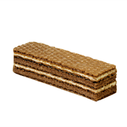 "Wafers ""Crocante"", milk&cocoa cream manufacturer"