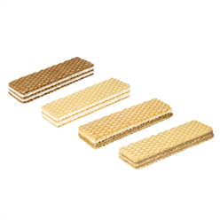 Wafers SLIM with different fillings  manufacturer