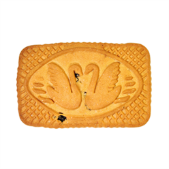 "Biscuits ""Swan"" with raisins manufacturer"