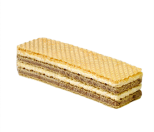 "Wafers ""Zebra"", milk&cocoa cream factory"